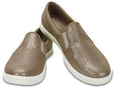 Crocs Dámské tenisky CitiLane Sequin Slip-on Gold 204285-710