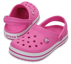 Crocs Kids Crocband Klumpa papucs Pink Party 204537-6U9