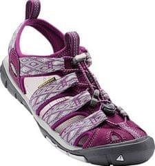 KEEN Dámske sandále Clearwater CNX Dark Purple/Purple Sage