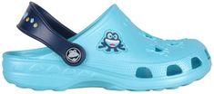 Coqui Detské šľapky Little Frog 8701 Blue/Navy 102214