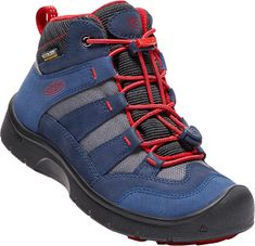 KEEN Junior boty Hikeport Mid Wp dress blues/firey red