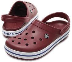 Crocs Papucs Crocband Garnet / fehér 11016-6MS