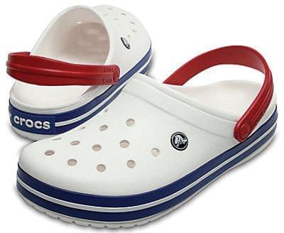 Crocs Papucs Crocband White Blue Jean 11016-11I (méret 42-43)  5ce69c4a44