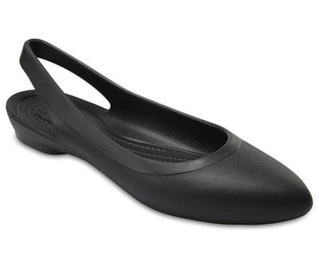Crocs Dámske baleríny Crocs Eve Slingback Black 204955-001 (Veľkosť ... b651ff5987