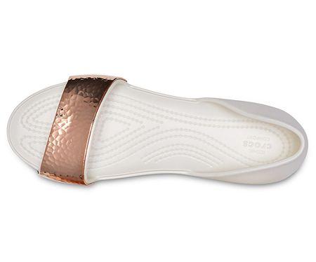 Dámské baleríny Lina Dorsay Hammered Met Oyster Rose Gold 205140-19I  (Velikost 37 56d36e114d
