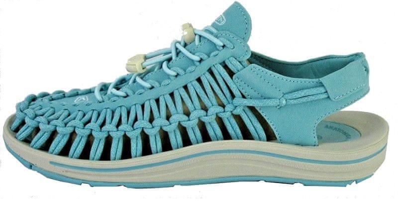 KEEN Dámské sandály Uneek Aqua Sea/Pastel Turquoise (Velikost 41)