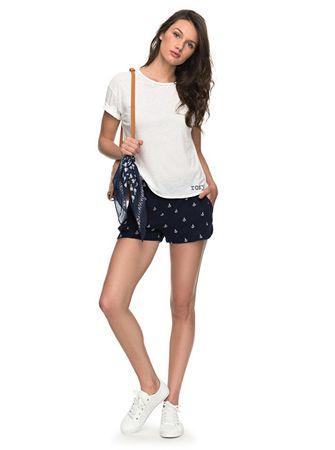 8b5f73dd4107 Dámské šortky Miami Beachy Short Dress Blue Emby Anchor ERJNS03134-BTK2 (Velikost  XS)