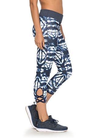 d91d863a895 Dámske fitness legíny Natural Twist Capri Dress Blue Geometric Feeling  ERJWP03014-BTK6 (Veľkosť XS
