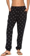 Roxy Dámské kalhoty Easy Peasy Print Anthracite Pearly Tiles ERJX603111-KVJ6