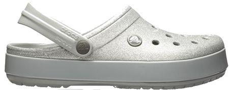 Crocs Šľapky Crocband Glitter Clog 205419-040 (Veľkosť 36-37)