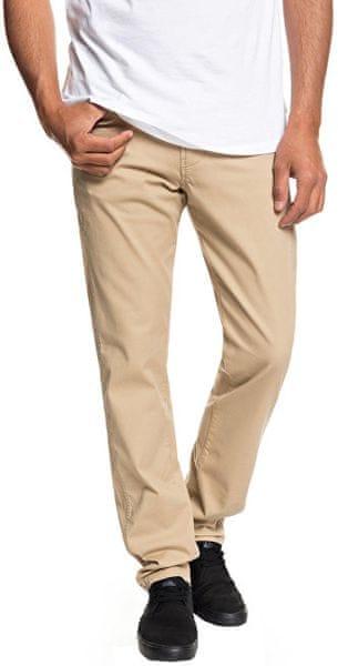 Quiksilver Pánské kalhoty Krandy 5 Pockets Plage EQYNP03151-CKK0 (Velikost 31)