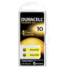 Duracell Naslouchátkové baterie Specialites Hearing Aid 10 6p