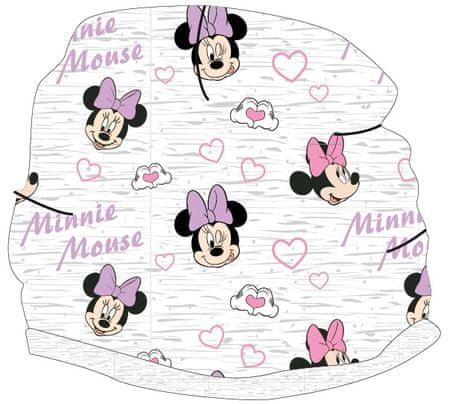 E plus M dívčí čepice Minnie 52 šedá