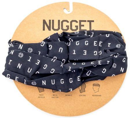 Nugget unisex černý šátek Buff Snow Protection
