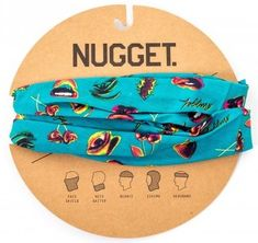 Nugget unisex modrý šátek Buff Snow Protection