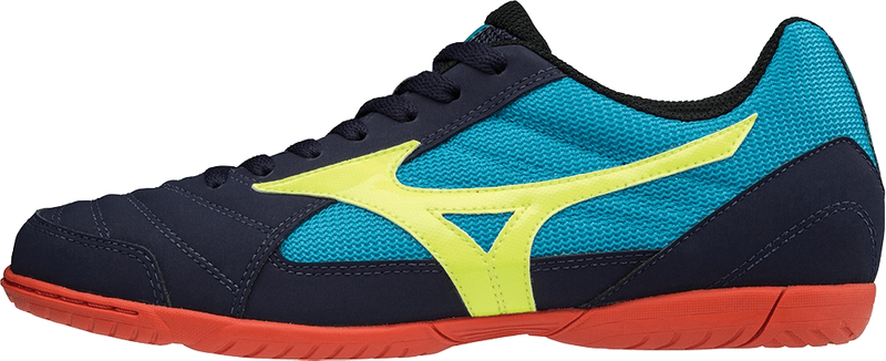 Mizuno Sala Club 2 In Eblue Syellow Hocean 41.0