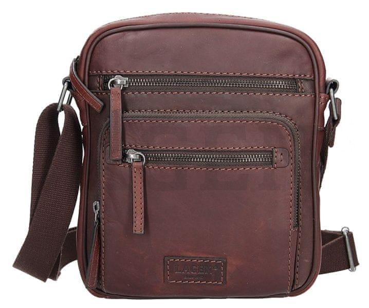 Lagen Pánská taška přes rameno 22399 BROWN 22d2288f8fb