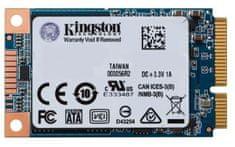 Kingston SSD disk UV500, mSATA, 120 GB, SATA3, TLC NAND (SUV500MS/120G)