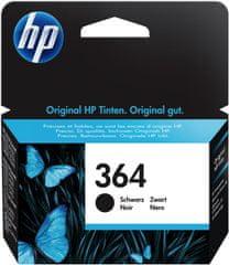 HP náplň č.364, černá (CB316EE)