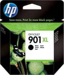 HP CC654AE, č.901XL, černá (CC654AE)