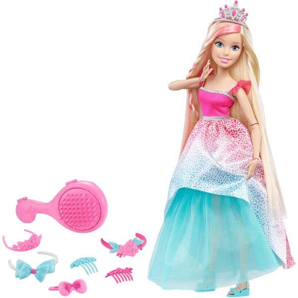 Mattel Barbie vysoká dlouhovláska blondýnka