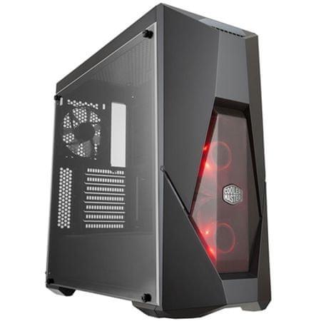 Cooler Master ohišje MasterBox K500L midi ATX, črno