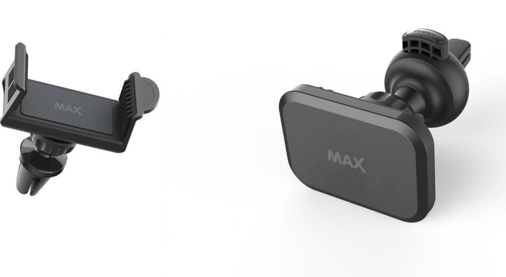 MAX Sada 2 univerzálních držáků do ventilace pro mobilní telefony