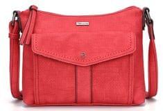 Tamaris červená crossbody kabelka Adriana