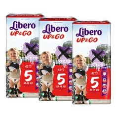 Libero Up& Go (5) pelenkacsomag - 3 x 42 db