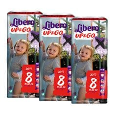 Libero Up & Go (8) pelenkacsomag - 3 x 30 db