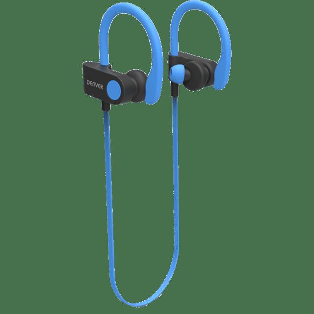 Denver BTE-110 bezdrátová sluchátka, modrá