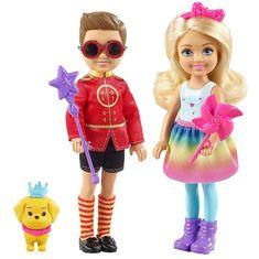 Mattel Barbie varázslatos szett Chelsea és Otto