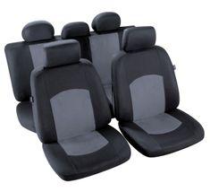 MAMMOOTH Potahy na přední sedadla Manaus, materiál: polyester, barva: černá/šedá