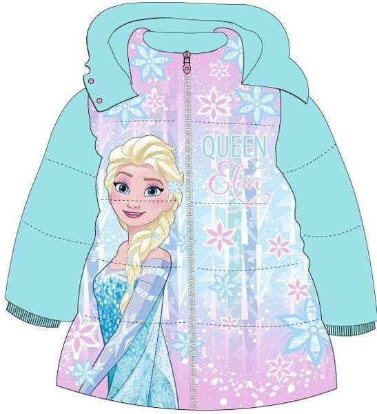E plus M dívčí zimní bunda Frozen 104 modrá