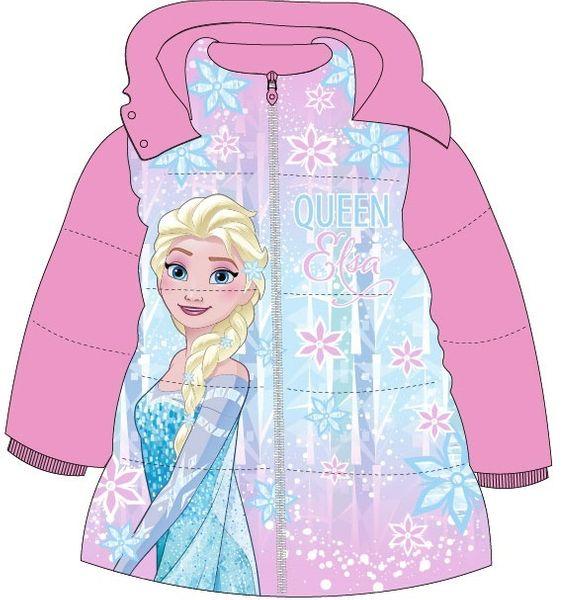 E plus M dívčí zimní bunda Frozen 110 růžová