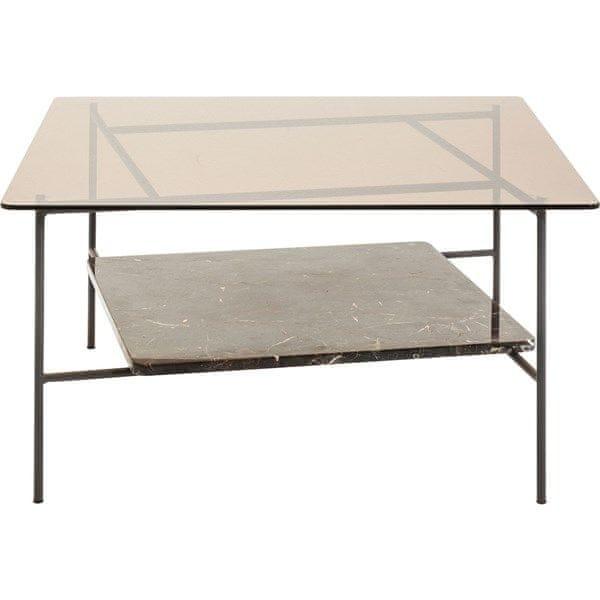 KARE Konferenční stolek Salto 80×80 cm