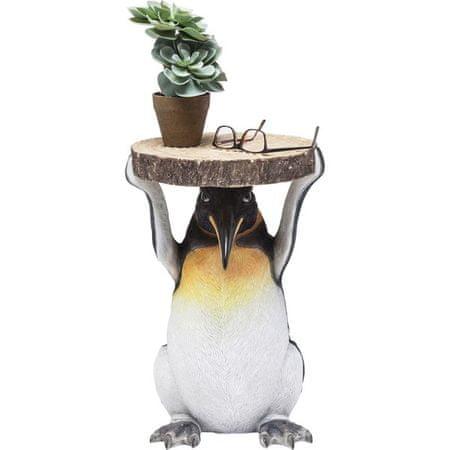 KARE Odkládací stolek Mr Penguin 33 cm