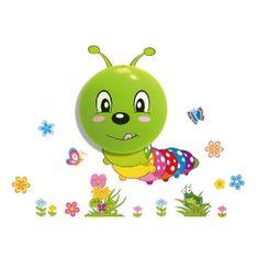 """Milagro Gyermek fali LED éjjeli lámpa 061 """"Hernyó"""""""