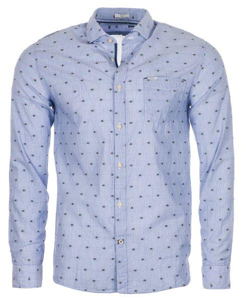 c4d7c1334c9 Pepe Jeans pánská košile Grayson L světle modrá