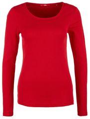 s.Oliver Dámske tričko 14.810.31.2727.3187 Poppy Red