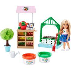 Mattel Barbie Chelsea kerti játék szett
