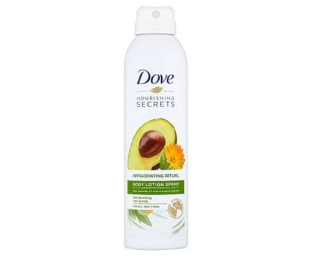Dove Rytuał w sprayu do Tělo Invigo ( Body Lotion Spray) 190 ml