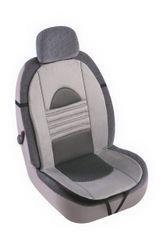 MAMMOOTH Potah na sedadlo Pearl, přední sedadla, barva šedá