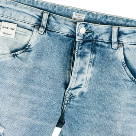 Pepe Jeans Stanley férfi farmer 34 34 világoskék  0465acd949