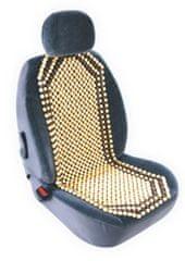 MAMMOOTH Univerzálny poťah na predné sedadlá, bambusové korálky, farba béžová