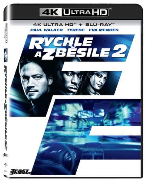 Rychle a zběsile 2 (2 disky) - Blu-ray + 4K ULTRA HD
