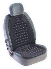 MAMMOOTH Potah na sedadlo Magnetic s masážním efektem, přední sedadla, barva černá