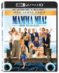 Mamma Mia! Here We Go Again (2 disky) - Blu-ray + 4K ULTRA HD