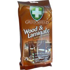 Greenshield úklidové ubrousky na dřevo a lamináty, 50 ks