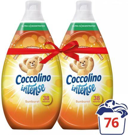Coccolino omekšivač za rublje Intense, Sunburst, 2 x 570 ml